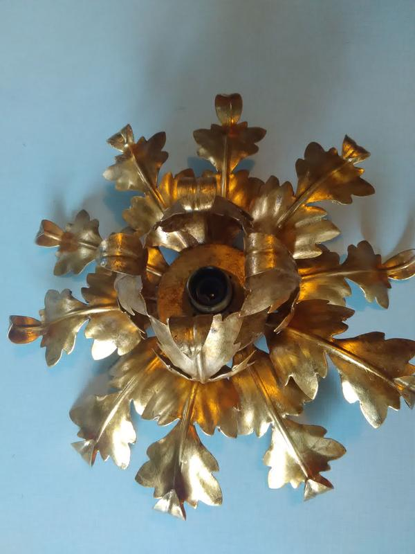 deckenleuchte und kronleuchter mit venezianer blattgold in m nchen lampen kaufen und. Black Bedroom Furniture Sets. Home Design Ideas