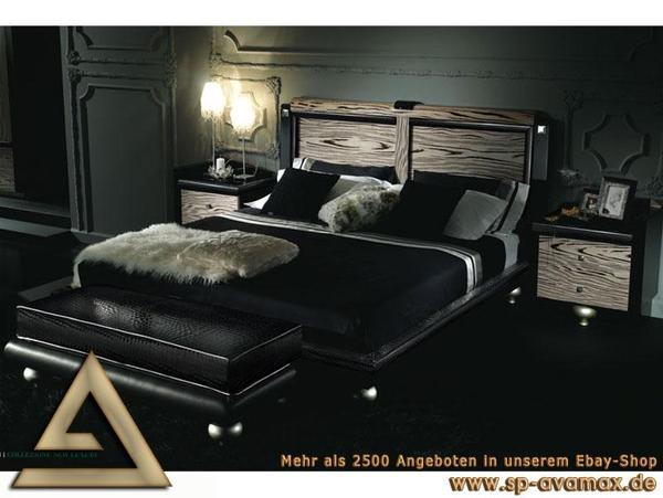 design luxus schlafzimmer set fancy leder stilm bel italien hochg in hamburg schr nke. Black Bedroom Furniture Sets. Home Design Ideas