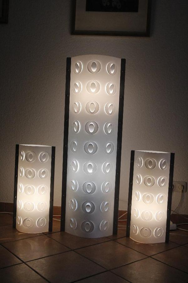 designerlampen von slamp stehlampe 2 tischlampen in mainz lampen kaufen und verkaufen ber. Black Bedroom Furniture Sets. Home Design Ideas