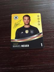 DFB Sammelkarten 2016