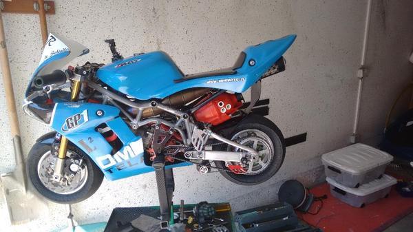 Dm telai 50ccm bzm minimoto pocketbike in karlsruhe for Roller hagsfeld
