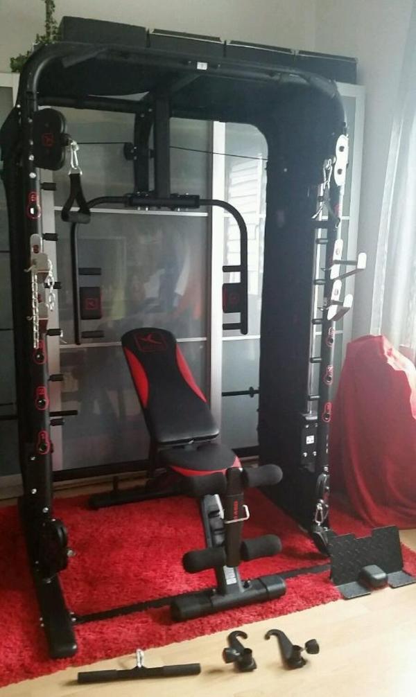 domyos bm 970 trainingsstation inkl schr gbank bi 460 in bielefeld fitness bodybuilding. Black Bedroom Furniture Sets. Home Design Ideas