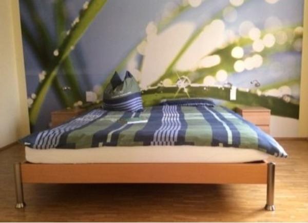 betten doppelbett 180x200 vollholzbett buche. Black Bedroom Furniture Sets. Home Design Ideas