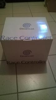 Dreamcast Race Controller