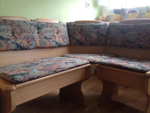 eckbank stoffbezug gemustert in n rnberg speisezimmer essecken kaufen und verkaufen ber. Black Bedroom Furniture Sets. Home Design Ideas