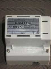 Einbautransformator, Grothe, 1982K,