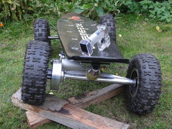 elektro skateboard off road scooter bike board 800watt. Black Bedroom Furniture Sets. Home Design Ideas