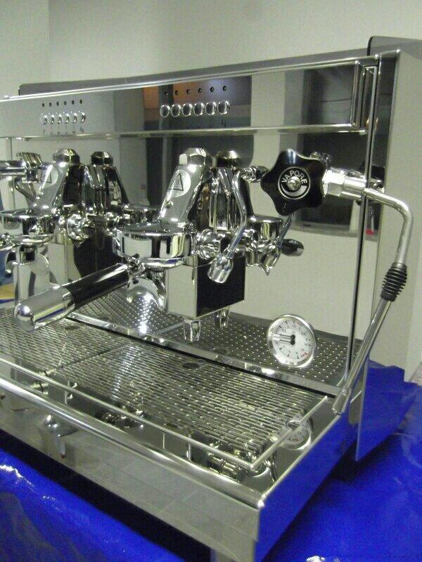espressomaschine ecm barista a2 in frankfurt oder kaffee espressomaschinen kaufen und. Black Bedroom Furniture Sets. Home Design Ideas