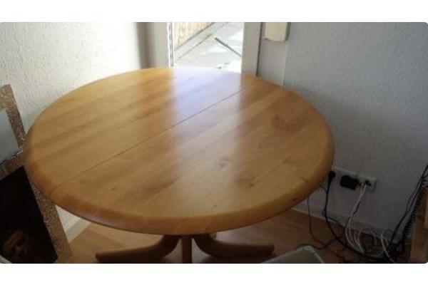 Esstisch gebrauchter neu und gebraucht kaufen bei for Vollholz esstisch ausziehbar