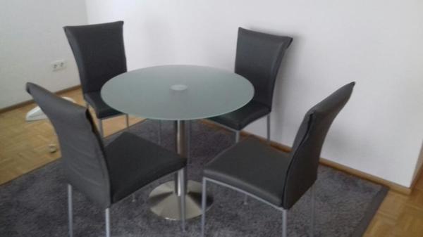 esstisch glas kaufen gebraucht und g nstig. Black Bedroom Furniture Sets. Home Design Ideas