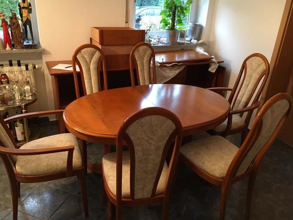 esstisch kirschbaum kaufen gebraucht und g nstig. Black Bedroom Furniture Sets. Home Design Ideas
