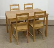 Esstisch + Stühle