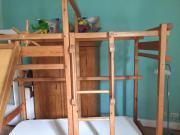 Etagenbett, Kinderhochbett Abenteuerbett