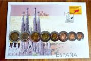 Euro-Numisbrief Spanien