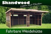 Fahrbare Weidehütte / Außenbox