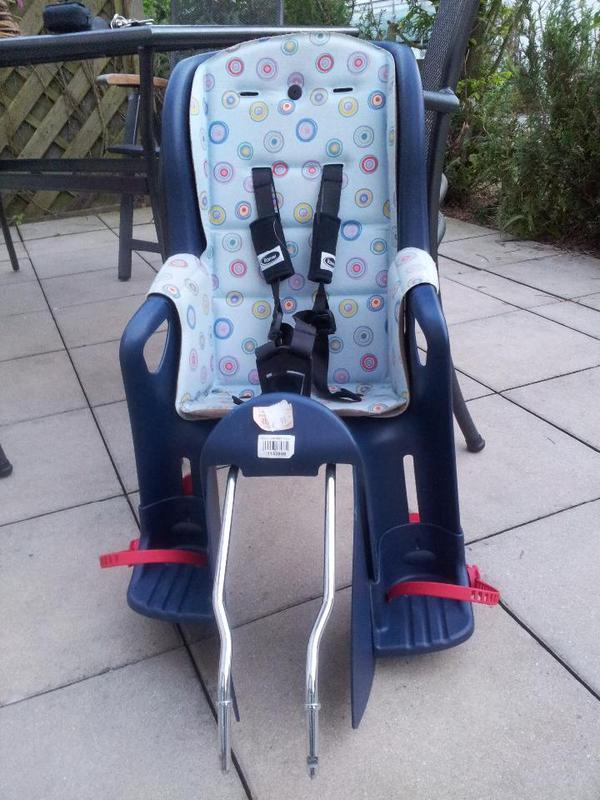 fahrradsitz r mer jockey relax in blau prima zustand in. Black Bedroom Furniture Sets. Home Design Ideas