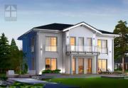 Fertighaus Villa wird