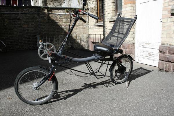 Flux V220 Scooter Bike Sesselrad Nuvinci