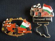 Formel1 Pins Hungaro