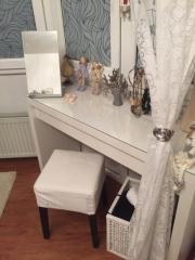 ikea malm frisiertisch haushalt m bel gebraucht und neu kaufen. Black Bedroom Furniture Sets. Home Design Ideas