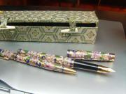 Füllfederhalter und Kugelschreiber