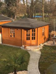 Fünf-Eck Gartenhaus