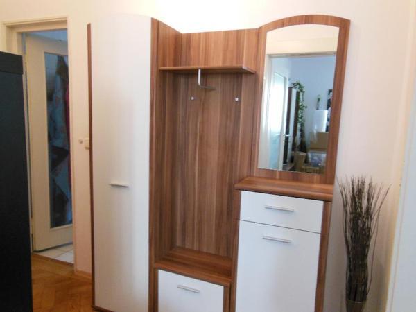 Wandspiegel Zu Verkaufen ~ Ich verkaufe meine Garderobe in Braun  Weiß Diese besteht aus