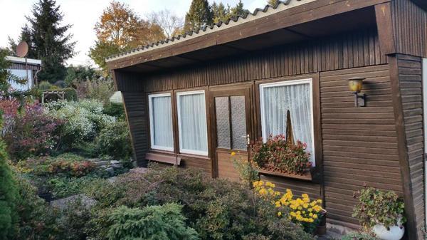 garten mit gartenhaus massiv strom wasser terrasse in. Black Bedroom Furniture Sets. Home Design Ideas