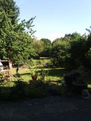 Gartengrundstück, Schrebergarten in