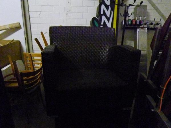 gartenm bel aus polyrattan 4 tlg in titz kaufen und. Black Bedroom Furniture Sets. Home Design Ideas