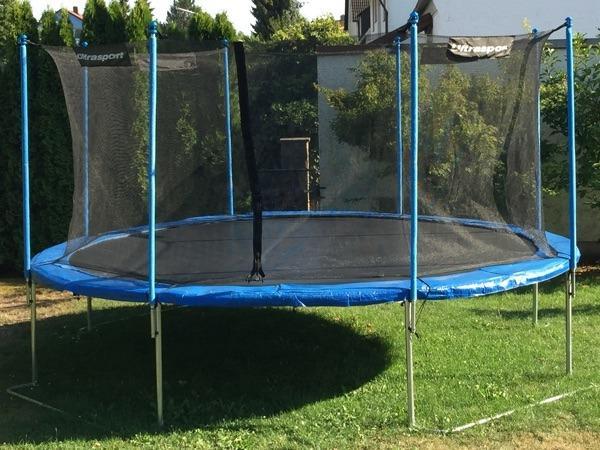 trampolin sicherheitsnetz neu und gebraucht kaufen bei. Black Bedroom Furniture Sets. Home Design Ideas