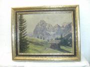 Gemälde Berg-Landschaft