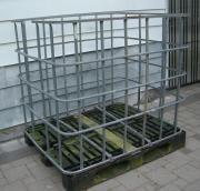 Gitterbox Lagerung Teile