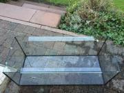 Glas-Terrarium ohne