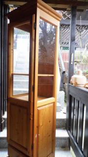 Glas-vitrine