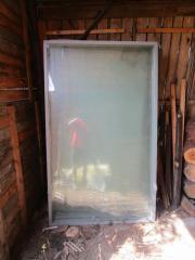 Glaselement Glastür Treibhaus