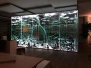 Glaskabine Trennwand Bürokabine