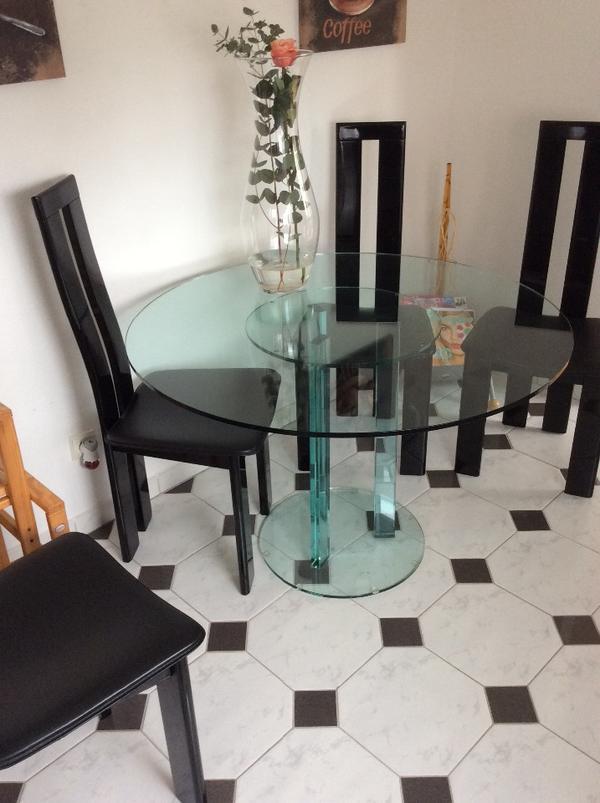 glastisch neu und gebraucht kaufen bei. Black Bedroom Furniture Sets. Home Design Ideas