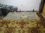 couchtisch glastisch messinggestell haushalt m bel gebraucht und neu kaufen. Black Bedroom Furniture Sets. Home Design Ideas