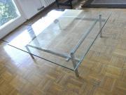 Glastisch fürs Wohnzimmer