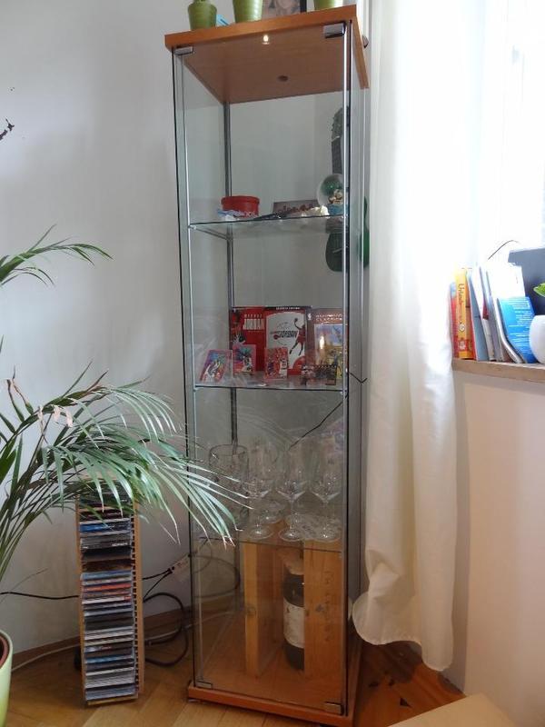 glasvitrine vitrine aus glas. Black Bedroom Furniture Sets. Home Design Ideas