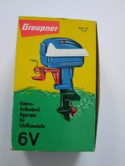 Graupner Elektro Außenbordaggregat