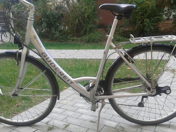 gudereit alu damen fahrrad 28 zoll 27 g nge lx schaltung. Black Bedroom Furniture Sets. Home Design Ideas