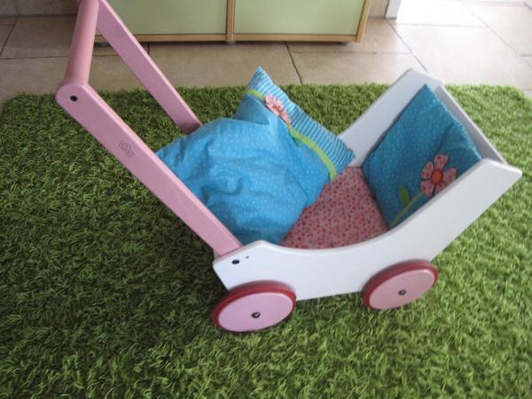 Lauflernwagen Aus Holz Von Haba ~ Puppenwagen  Lauflernwagen aus Holz original von HABA Wir verkaufen
