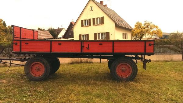 h nger anh nger 6 tonner gummiwagen wagen landwirtschaft forst in heidenheim traktoren. Black Bedroom Furniture Sets. Home Design Ideas