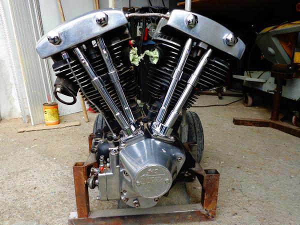 harley davidson motor shovelhead in soest motorrad. Black Bedroom Furniture Sets. Home Design Ideas