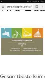 Hausmeisterservice und Gartenpflege