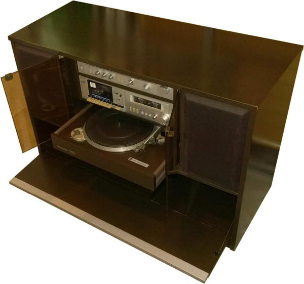 hifi schrank rosita m nchen 83 rarit t mit top komponenten. Black Bedroom Furniture Sets. Home Design Ideas