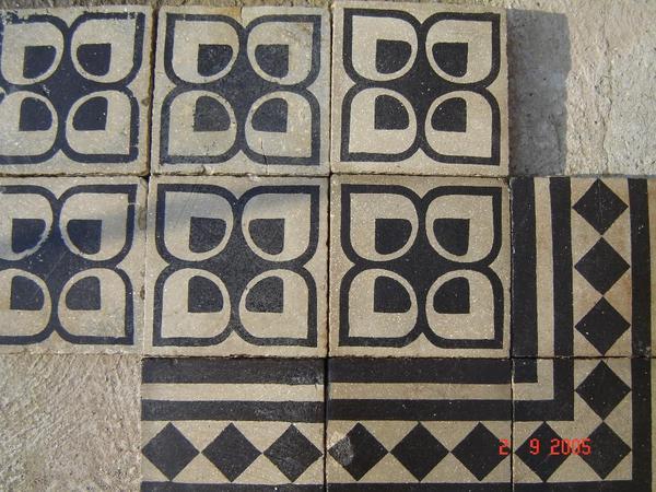 historische zementfliesen in lingenfeld fliesen keramik. Black Bedroom Furniture Sets. Home Design Ideas
