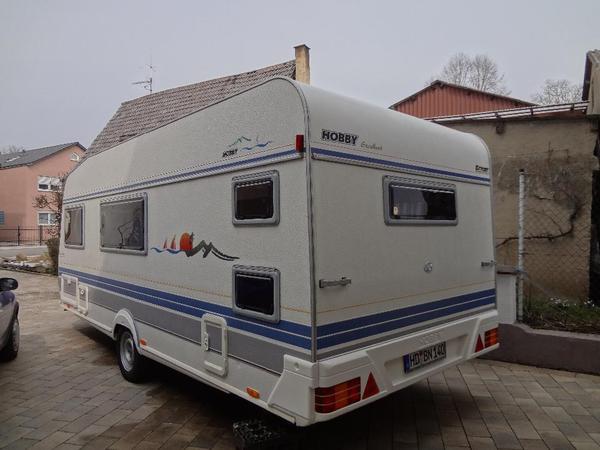 Hobby 520 KMB Excellent Wohnwagen mit Etagenbett in ...